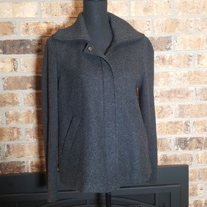 Eileen Fisher | Wool zipper jacket